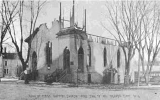 Baptist Church Fire