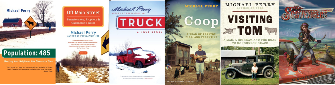 Michael Perry Books