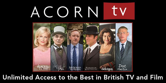 AcornTV Streaming Service now available!