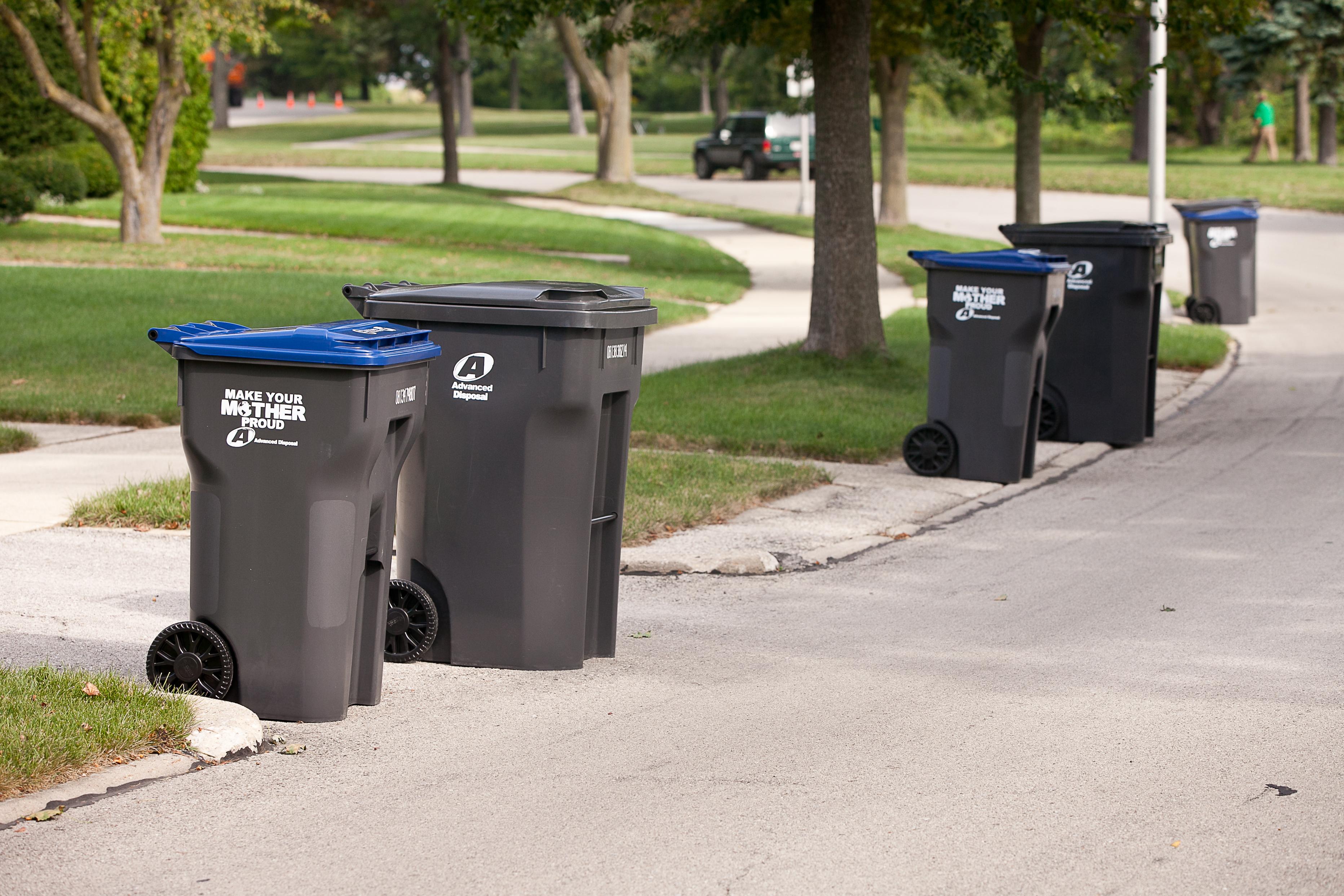 Curbside Garbage Pickup Guidelines