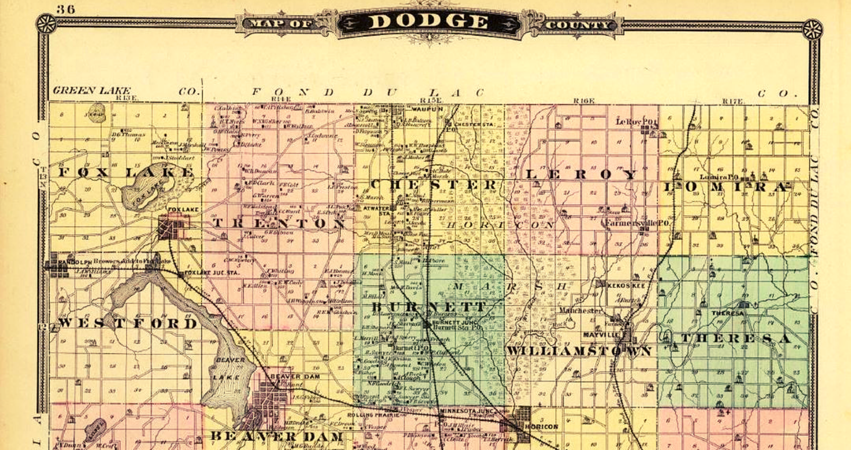 Dodge County Plat Maps & Atlases