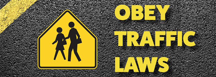 How to Obey Simple Traffic Laws