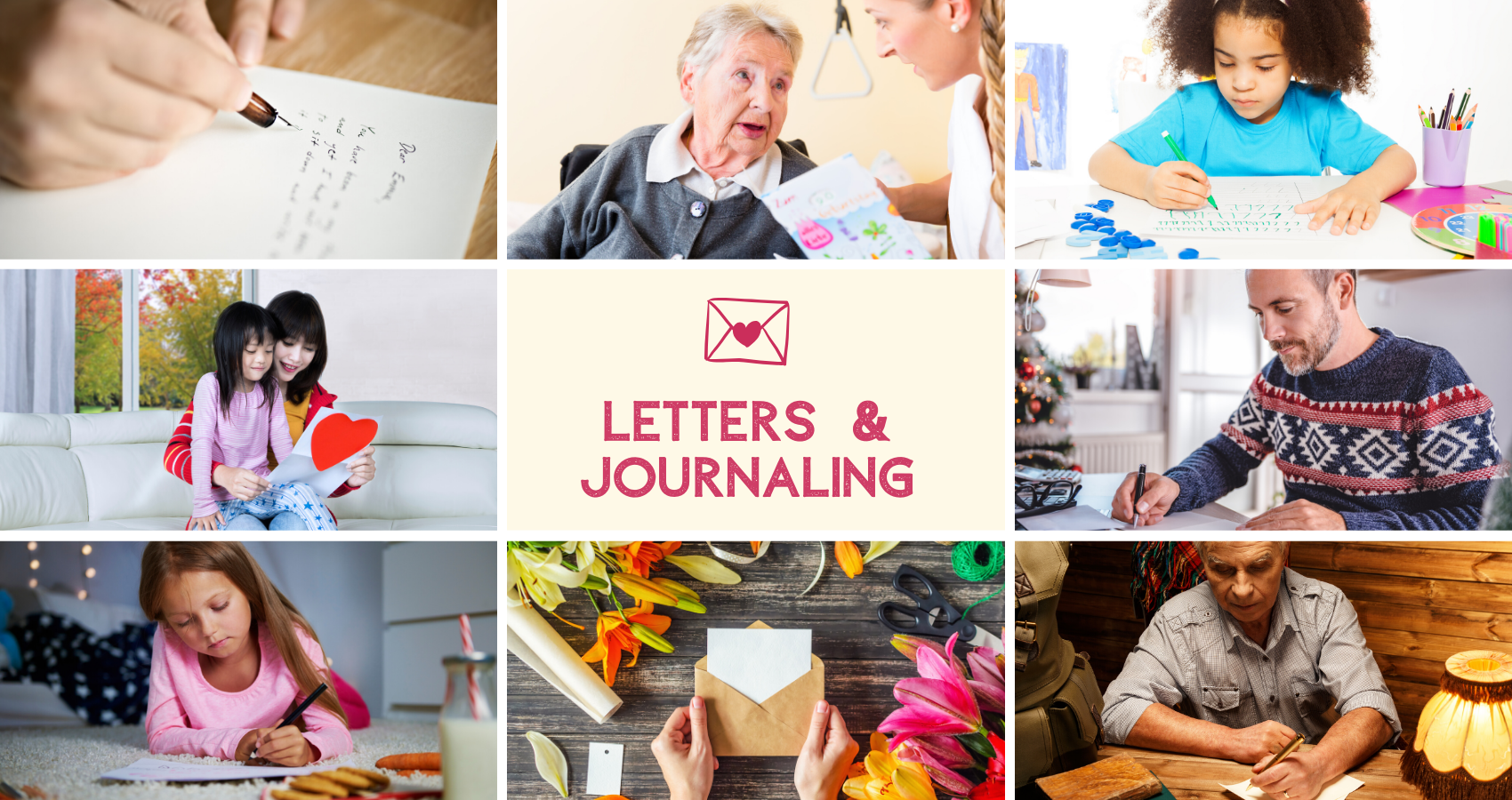 Journaling, Letters & Postcards